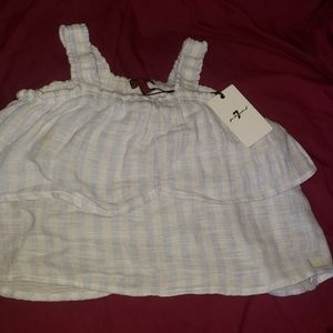 Baby girl size M blouse